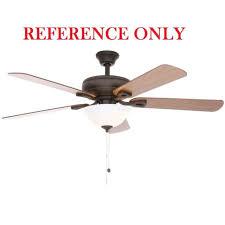 hunter fan blade bracket hton bay rothley ceiling fan 52 in canopy bronze ebay