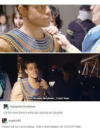 Egyptian Memes - rami malek we wuz kings know your meme