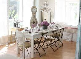 dining room contemporary shabby chic dining set with distressed