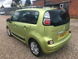used citroen c3 picasso mpv 1 6 hdi 16v exclusive 5dr in