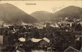 Ak Ansichtskarte Friedrichroda Blick Vom Herzogsweg Ak Friedrichroda Im Thüringer Wald Blick über Die Dächer Des Ortes