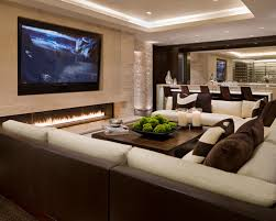 Brilliant Contemporary Family Room Designs Stunning Contemporary - Family room accessories