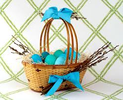 Easter Baskets Delivered Diy Willow Easter Basket U2014 Gift Horse Co