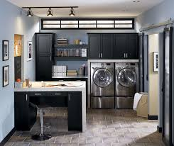 home laundry room cabinets laundry room cabinets in black kitchen craft cabinetry