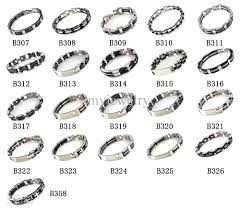 bangle bracelet man stainless steel images 2018 men 39 s stainless steel bracelet bangle silica gel silver tone jpg