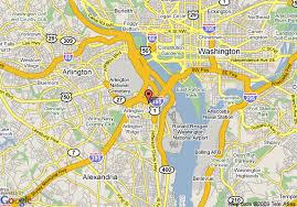 pentagon map map of residence inn pentagon city arlington