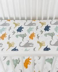 Muslin Crib Bedding Unicorn Cotton Muslin Crib Sheet Dino Friends