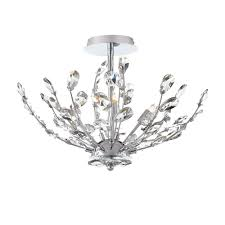 crystal semi flush mount lighting lighting semi flush mount lighting glass bulb with crystals for