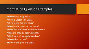 asking questions chapter 5 yes no questions 5 1 a yes no