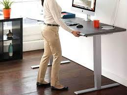 desk office desk adjustable height electric sit to stand desk