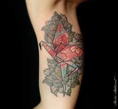 pretty paper crane tattoos tattoodo origami crane tattoo origami crane bird tattoo 948x876 jpg
