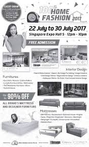 100 home fashion 2017 show at singapore expo from 22 u2013 30 jul 2017