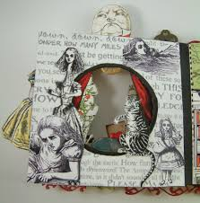 artfully musing alice in wonderland tunnel book books