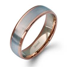 gold mens wedding band simon g plain gold mens wedding bands designer engagement
