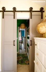 Home Barn Doors by Remodelaholic 35 Diy Barn Doors Rolling Door Hardware Ideas