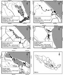 Vera Cruz Mexico Map by Map Of The Veracruz Coast In The Gulf Of Mexico Showing Study