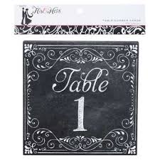 Drafting Table Hobby Lobby Chalkboard Table Number Cards Hobby Lobby 394379