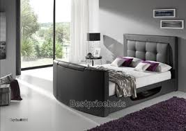Bed Frame With Tv In Footboard Luxury Bedding Tv Beds