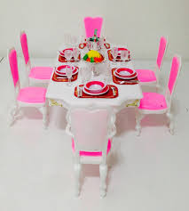 barbie dining room set ideas collection kids toys kids toys barbie furniture and