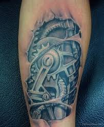 biomechanical tattoos designs pictures page 8