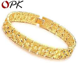 luxury chain bracelet images Oem jewelry luxury gold color bracelet brand new design width mm jpg