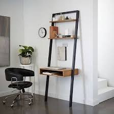 Desk Ideas For Small Spaces Best 25 Leaning Desk Ideas On Pinterest Small Office Spaces