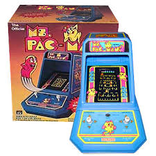 Table Top Arcade Games Ms Pac Man Coleco Tabletop Arcade Geek Vintage