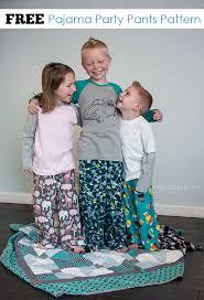 free pattern pajama pants pajama party pants free sewing pattern peek a boo pages