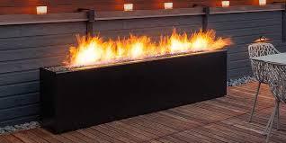 Modern Firepit Modern Propane Pit Dixie Furniture