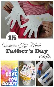 Hand Crafts For Kids To Make - father u0027s day kid made crafts kids hands craft and happy mom