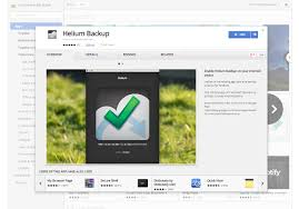android helium backup and restore your android apps via chrome with helium