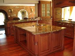 Kitchen Cabinet Island Ideas Kitchen Room Design Dark Brown Teak Wood Kitchen Island Metal S