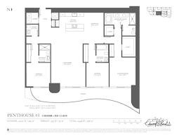 3 Bedroom Condo Floor Plan by Floor Plans Brickell Flatiron Miami Florida