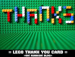 lego thank you card free lego party printables birthday