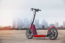 concept mini scooter gets its kick from bionx motor bicycle