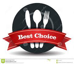 vector restaurant logo design stock vector image 22130447