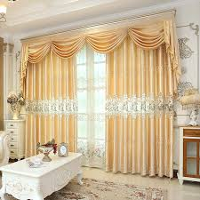 luxury bedroom curtains 2017 european quality water soluble embroidered curtain fabric for
