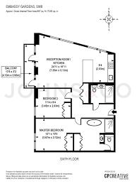 embassy suites floor plan 2 bed flat for sale in ambassador building embassy gardens nine