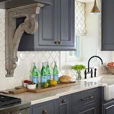 Steel Gray Cabinets With Bronze Hardware Design Ideas - Bronze kitchen cabinet hardware