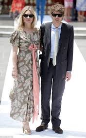 moss and kate moss and count nikolai bismarck attend wedding in