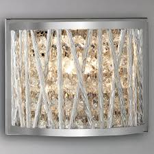 Crystal Wall Sconces by Exterior Design Charming Crystal Wall Lights Design Swarovski