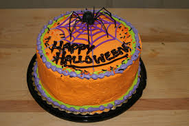 birthday cakes for halloween file halloween cake with web and spider jpg wikimedia commons