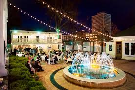 wedding venues in mississippi beautiful reception outdoor string lights water