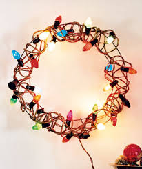 75 new uses for the holidays lighted wreaths wreaths and