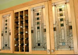 stained glass cabinet door furniture design style