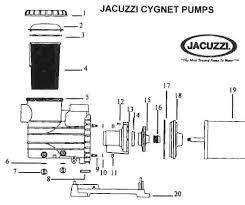 jacuzzi replacement parts for pool pumps poolcenter com