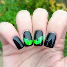 halloween cat eye nail art u2013 polished inka