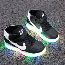 led light up shoes for boys amazon com new boys girls led light up lace up luminous sneakers
