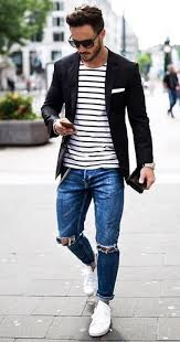 men s 20 stylish ripped jeans spring outfits for men stylish spring and