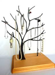 contemporary jewelry tree memo holder ornament tree valet